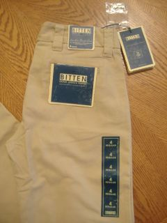 by Sarah Jessica Parker Low Rise Chino Trousers Beige / Sizes 0 10
