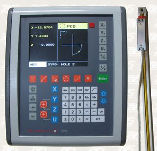 Easson LCD Digital ReadOut 3 axis DRO kit with Glass Scales Mill/Lathe