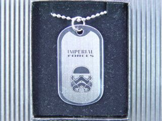 Newly listed Star Wars Stormtrooper Helmet Dog Tag Necklace