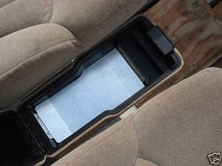 FOR YOUR BROKEN CENTER CONSOLE ARM REST LID CHEVY S10 TRUCK SONOMA
