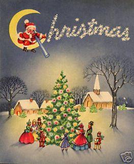 Vintage Christmas Greeting Card CD V.5 280+ Images