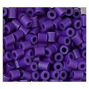 1000 PURPLE PHOTO PEARL / Nabbi / Perler Beads RARE