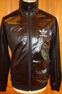 RETRO ADIDAS ORIGINALS SUPERSTAR TRACK TOP CHILE 62 SMALL BLACK SALE