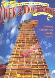 The Guitar Chord Wheel Book Over 22,000 Chords by Hal Leonard