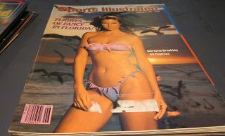 SPORTS ILLUSTRATED CHRISTIE BRINKLEY SWIMSUIT EDITION FEB 9, 1981