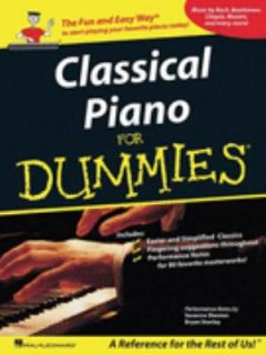 Classical Piano Music for Dummies A Reference for the Rest of Us 2008