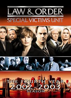 Law Order Special Victims Unit   The Fourth Year DVD, 2007, 5 Disc Set