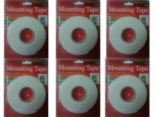 Duty Sticky Self Adhsive Double Side Sided Mounting Tape Foam Pad