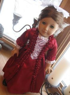 Colonial Doll Clothes Dress Made To Fit American Girl 18 Inch Doll NEW