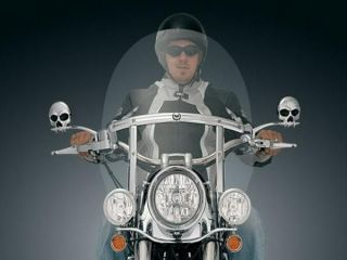 Harley Davidson Quick Release Windshield   Tall/Clear by Kuryakyn 2617