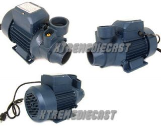 HP ELECTRIC CLEAR WATER PUMP 1 POOL POND BIODIESEL