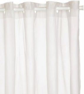 Escape Hookless Shower Curtain White Brown 72x72 Product