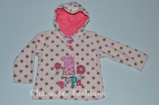 PEPPA PIG Size 12 18 24 Months 2T 3T 4T 5T 5 6 Shirt HOODIE Sweatshirt