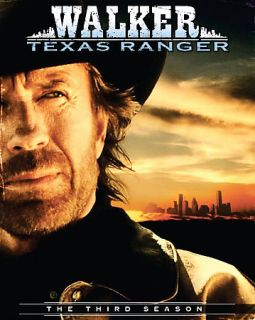 Walker Texas Ranger   The Complete Third Season DVD, 2007, 7 Disc Set