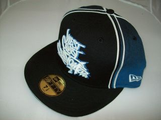 New Era Baseball Cap 5950 West Coast Customs Size 7 1/2 Hat