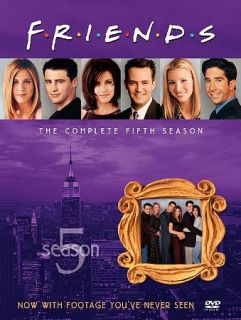 Friends   The Complete Fifth Season DVD, 2010, 4 Disc Set