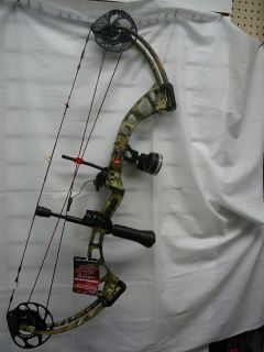 NEW  PSE X Force Axe 7 Compound Bow 70# 2010