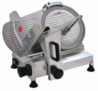 New Meat Slicer 8 Blade Commercial Cheese Deli Meat Food Slicer HBS
