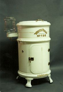 1900s Anique Ice box fridgidar magne