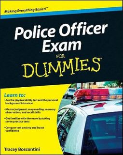 Police Officer Exam for Dummies by Raymond Foster and Tracey