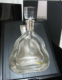 Richard Hennessy Cognac Baccarat Crystal Decanter Bottle With Box