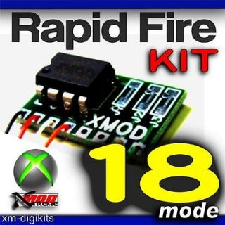 Rapid Fire KIT 18 Modes x XBOX 360 Modded Controller   COD MW3