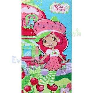 NEW Strawberry Shortcake Berry Beach Bath Cotton Towel
