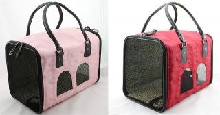 Wholesale Luxury Comfort Pet carriers for small dog Airline Travel