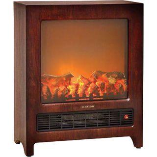 Comfort Zone Electric Console Heater   1350 Watt, Flame Effect