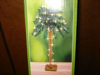 TIKI 18 TABLE LIGHTS PALM TREE NEW YEARS JIMMY BUFFETT INSIDE   OUT
