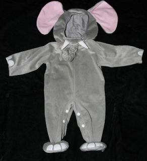 Elephant Halloween Costume Safari Infant Toddler Plush 12M   18M