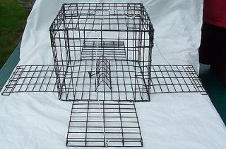 12 x 12 x 10 four DOOR CRAB TRAPS/CRAB POTS BY EAST COAST TRAPS