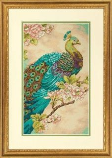 Counted Cross Stitch Kit INDIAN PEACOCK