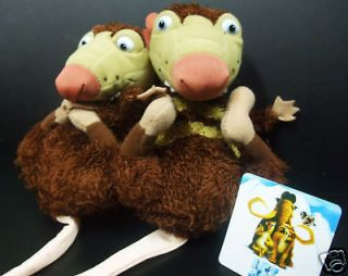Rare Ice Age Crash And Eddie Plush Soft Toy   NEW (tag)