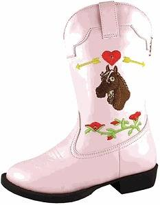 Smoky Mountain Boots Austin Lights Western Cowboy Boot Pink   Light Up