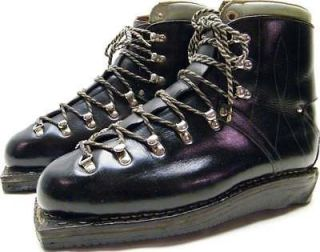 MENS VINTAGE GREIF CROSS COUNTRY LEATHER SKI BOOTS SHOES HIGH QUALITY