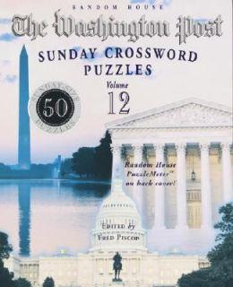 The Washington Post Sunday Crossword Puzzles Vol. 12 2003, Paperback