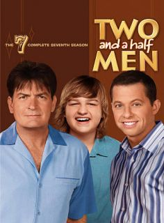 Two and a Half Men The Complete Seventh Season DVD, 2010, 3 Disc Set