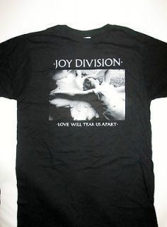 Joy Division love will tear us apart soft slim fit t shirt size S or M