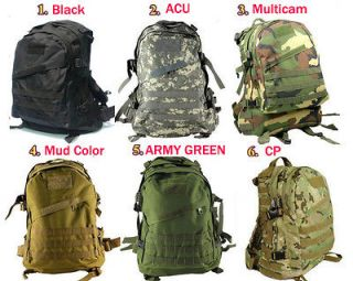 3days Tactical backpack Military outdoor sports camping hiking bag