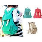 Cute Canvas Shoulder Bag Backpack Satchel School Tote Handbag Evening