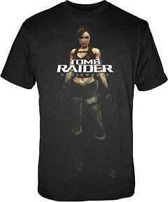 TOMB RAIDER T Shirt Cloth Tee NEW Lara Croft PSP MEN L
