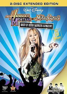 Hannah Montana Miley Cyrus Best of Both Worlds Concert DVD, 2008, 2