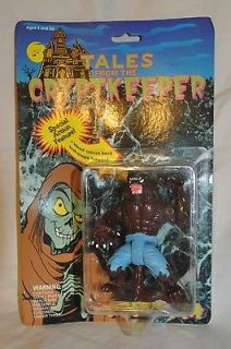 From the Cryptkeeper, The Werewolf, Crypt Action Figure, 1990, MOC