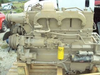 Cummins Big Cam NTC 250 Engine Assembly