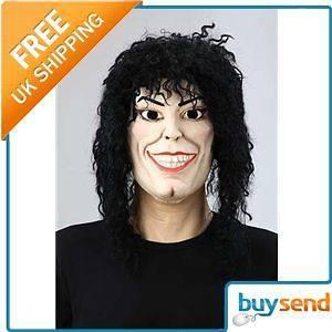 Michael Jackson Wierd Guy Halloween Fancy Dress Mask  One Size Fits