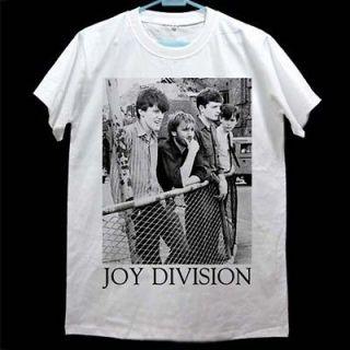 Ian Curtis JOY DIVISION Member Retro T shirt Size M