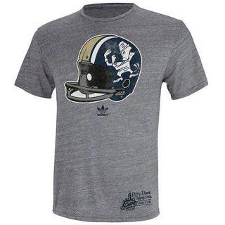 Notre Dame Fighting Irish adidas Shamrock Series Distressed Helmet Tri