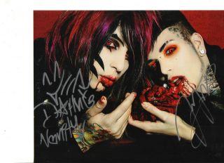 Blood on the Dance Floor Dahvie Vanity Jayy Von Monro reprint signed