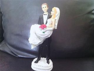 Topper Merried Couple Wedding Celebration Family Party Dancers Gift
